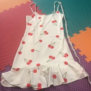 Flirty cherry dress